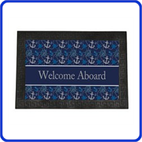 Boating Welcome Mats