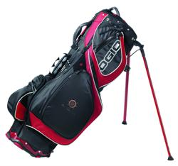Ogio Grom II Stand Bag - Red / Black Golf Bag that has it ALL