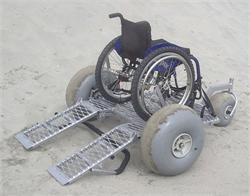 Platform Beach Dolly for Wheelchairs - Resorts can offer better amenities