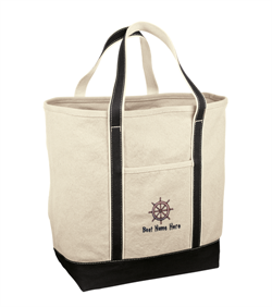 Pack all your beach belongings in this Red House Heavyweight Canvas Totes