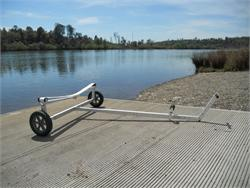 Boat Dolly with 15 inch Tuff Tire Wheels for a little extra payload.