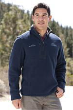 Eddie Bauer® - Quarter-Zip Fleece Pullover - Warm up with this pullover!