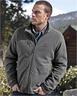 Eddie Bauer® - Wind Resistant Full-Zip Fleece Jacket - Innovation