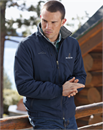 Eddie Bauer® - Fleece-Lined Jacket - Stay warm in the cool air.