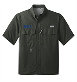 Eddie Bauer® Short Sleeve Performance Fishing Shirt with Free Embroidery