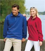 Sueded Finish 1/4-Zip Sweatshirt - Port Authority® - F292