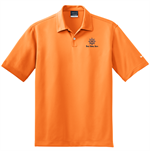 Nike Golf Gifts for Dad - Dri-FIT Pebble Texture Polo - Orange