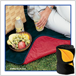 Fleece and Nylon Picnic Blanket - Port Authority® - TB85