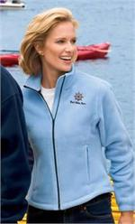 Ladies R-Tek Fleece Jacket by Port Authority - Enjoyable Trips on the Boat