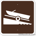 Boat Ramp - 24x24 Marine Sign