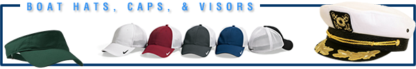 Boat Hats, Boat Packs, Boat Visors, Boat Headgear
