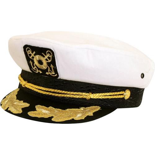 Dorfman Pacific Classic Captain's Hat with Scrambled Eggs