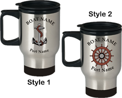 Stainless Steel Travel Coffee Mugs (Set of 4)