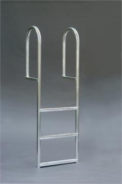 Boat Dock Ladder - Straight Ladder - 3 Step