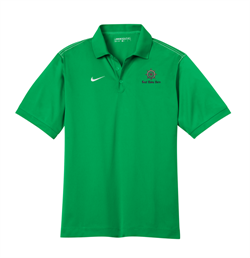 Nike Golf - Dri-FIT Sport Swoosh Pique Polo - Lucky Green