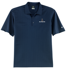 Nike Golf - Dri-FIT Textured Polo - Navy