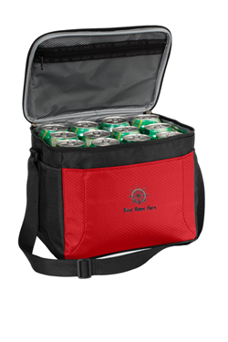 Port Authority® 12-Can Cube Cooler - Red