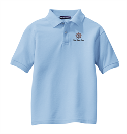 Port Authority® - Youth Silk Touch™ Polo - Light Blue