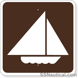 Sailboating - 24x24 Marine Sign