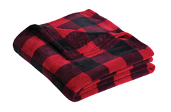 Port Authority - Ultra Plush Blanket - Buffalo Plaid