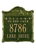 Fisherboy Welcome Address Plaque
