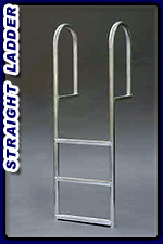 Boat Dock Ladder - Straight