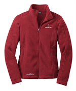 Eddie Bauer® - Ladies Full-Zip Fleece Jacket - Red Rhubarb