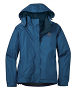 Eddie Bauer® - Ladies Rain Jacket - Deep Sea Blue