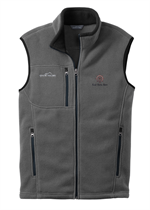 Father's Day Gift - Eddie Bauer Fleece Vest with Embroidery