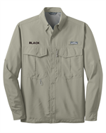 Eddie Bauer® Long Sleeve Performance Fishing Shirt with Free Embroidery