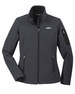 Eddie Bauer® Ladies Rugged Ripstop Soft Shell Jacket - Grey