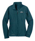 Eddie Bauer® - Ladies Soft Shell Jacket - Dark Adriatic Blue