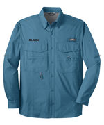 Eddie Bauer® Long Sleeve Fishing Shirt with Free Embroidery
