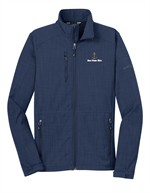 Eddie Bauer® Shaded Crosshatch Soft Shell Jacket Blue