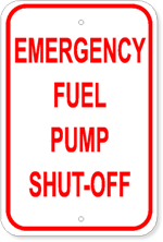 Emergency Fuel Pump Shut-Off