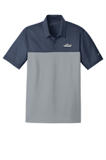 Nike Golf Dri-FIT Colorblock Micro Pique Polo - Navy / Cool Grey