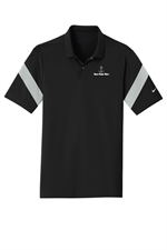 Nike Golf Dri-FIT Commander Polo - Black / Wolf Grey