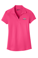 Nike Golf - Ladies Dri-FIT Legacy Polo - Rush Pink