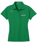 Nike Golf Ladies Dri-FIT Sport Swoosh Pique Polo - Lucky Green