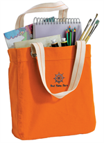 Port Authority® Allie Tote - Bright Orange