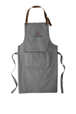 Port Authority ® Market Full-Length Bib Apron - Ash Grey
