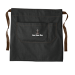 Port Authority ® Market Half Bistro Apron - Dark Midnight