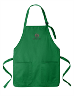 Port Authority ® Medium-Length Two-Pocket Bib Apron - Kelly Green