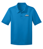 Port Authority® - Youth Silk Touch™ Performance Polo - Brilliant Blue